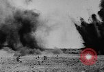 Image of American ammunition dump explodes in World War 1 France, 1918, second 52 stock footage video 65675042394