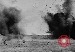 Image of American ammunition dump explodes in World War 1 France, 1918, second 53 stock footage video 65675042394