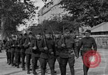 Image of WWI American soldiers at a funeral France, 1918, second 4 stock footage video 65675042397