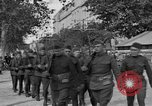 Image of WWI American soldiers at a funeral France, 1918, second 5 stock footage video 65675042397