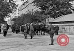 Image of WWI American soldiers at a funeral France, 1918, second 12 stock footage video 65675042397