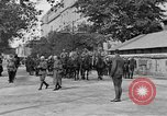 Image of WWI American soldiers at a funeral France, 1918, second 13 stock footage video 65675042397