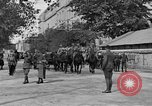 Image of WWI American soldiers at a funeral France, 1918, second 14 stock footage video 65675042397