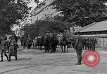 Image of WWI American soldiers at a funeral France, 1918, second 16 stock footage video 65675042397