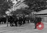 Image of WWI American soldiers at a funeral France, 1918, second 21 stock footage video 65675042397