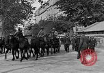 Image of WWI American soldiers at a funeral France, 1918, second 22 stock footage video 65675042397