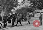 Image of WWI American soldiers at a funeral France, 1918, second 32 stock footage video 65675042397