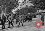 Image of WWI American soldiers at a funeral France, 1918, second 33 stock footage video 65675042397