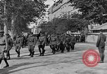 Image of WWI American soldiers at a funeral France, 1918, second 35 stock footage video 65675042397