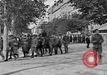 Image of WWI American soldiers at a funeral France, 1918, second 40 stock footage video 65675042397