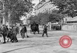Image of WWI American soldiers at a funeral France, 1918, second 44 stock footage video 65675042397