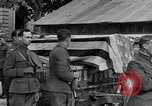 Image of WWI American soldiers at a funeral France, 1918, second 50 stock footage video 65675042397