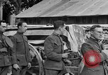 Image of WWI American soldiers at a funeral France, 1918, second 55 stock footage video 65675042397