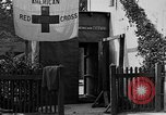 Image of Red Cross building France, 1918, second 28 stock footage video 65675042398