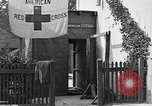 Image of Red Cross building France, 1918, second 38 stock footage video 65675042398