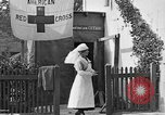 Image of Red Cross building France, 1918, second 43 stock footage video 65675042398