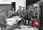 Image of Injured allied soldiers on litters World War I France, 1918, second 32 stock footage video 65675042399