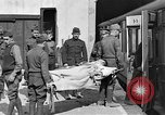 Image of Injured allied soldiers on litters World War I France, 1918, second 34 stock footage video 65675042399