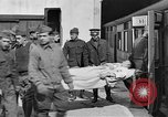 Image of Injured allied soldiers on litters World War I France, 1918, second 36 stock footage video 65675042399