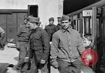 Image of Injured allied soldiers on litters World War I France, 1918, second 37 stock footage video 65675042399