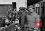 Image of Injured allied soldiers on litters World War I France, 1918, second 38 stock footage video 65675042399