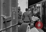 Image of Injured allied soldiers on litters World War I France, 1918, second 44 stock footage video 65675042399