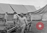 Image of Injured allied soldiers on litters World War I France, 1918, second 47 stock footage video 65675042399