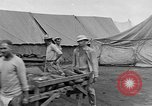 Image of Injured allied soldiers on litters World War I France, 1918, second 48 stock footage video 65675042399