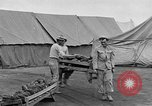 Image of Injured allied soldiers on litters World War I France, 1918, second 50 stock footage video 65675042399