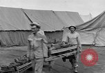 Image of Injured allied soldiers on litters World War I France, 1918, second 52 stock footage video 65675042399
