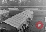 Image of tent area France, 1918, second 28 stock footage video 65675042406