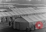 Image of tent area France, 1918, second 53 stock footage video 65675042406
