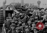 Image of German submarine surrenders to British Q-ship Mediterranean Sea, 1917, second 2 stock footage video 65675042412