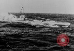 Image of German submarine surrenders to British Q-ship Mediterranean Sea, 1917, second 17 stock footage video 65675042412