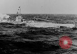 Image of German submarine surrenders to British Q-ship Mediterranean Sea, 1917, second 19 stock footage video 65675042412