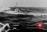 Image of German submarine surrenders to British Q-ship Mediterranean Sea, 1917, second 20 stock footage video 65675042412