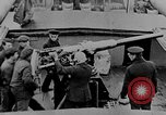 Image of German submarine surrenders to British Q-ship Mediterranean Sea, 1917, second 25 stock footage video 65675042412