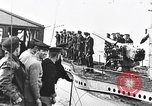 Image of German submarine surrenders to British Q-ship Mediterranean Sea, 1917, second 27 stock footage video 65675042412