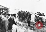 Image of German submarine surrenders to British Q-ship Mediterranean Sea, 1917, second 28 stock footage video 65675042412