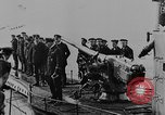Image of German submarine surrenders to British Q-ship Mediterranean Sea, 1917, second 30 stock footage video 65675042412