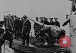 Image of German submarine surrenders to British Q-ship Mediterranean Sea, 1917, second 31 stock footage video 65675042412