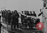 Image of German submarine surrenders to British Q-ship Mediterranean Sea, 1917, second 33 stock footage video 65675042412