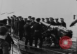 Image of German submarine surrenders to British Q-ship Mediterranean Sea, 1917, second 35 stock footage video 65675042412