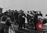 Image of German submarine surrenders to British Q-ship Mediterranean Sea, 1917, second 37 stock footage video 65675042412