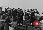 Image of German submarine surrenders to British Q-ship Mediterranean Sea, 1917, second 38 stock footage video 65675042412