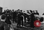 Image of German submarine surrenders to British Q-ship Mediterranean Sea, 1917, second 39 stock footage video 65675042412