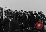Image of German submarine surrenders to British Q-ship Mediterranean Sea, 1917, second 40 stock footage video 65675042412