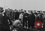 Image of German submarine surrenders to British Q-ship Mediterranean Sea, 1917, second 42 stock footage video 65675042412
