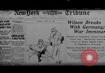 Image of Woodrow Wilson Europe, 1917, second 1 stock footage video 65675042413