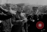Image of Woodrow Wilson Europe, 1917, second 44 stock footage video 65675042413